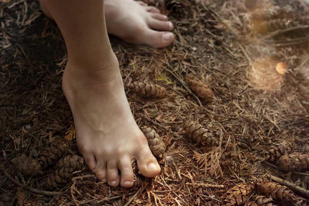 Grounding - Gå uden sko